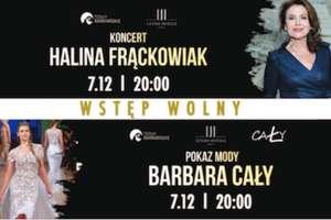 Halina Frąckowiak w Termach Warmińskich