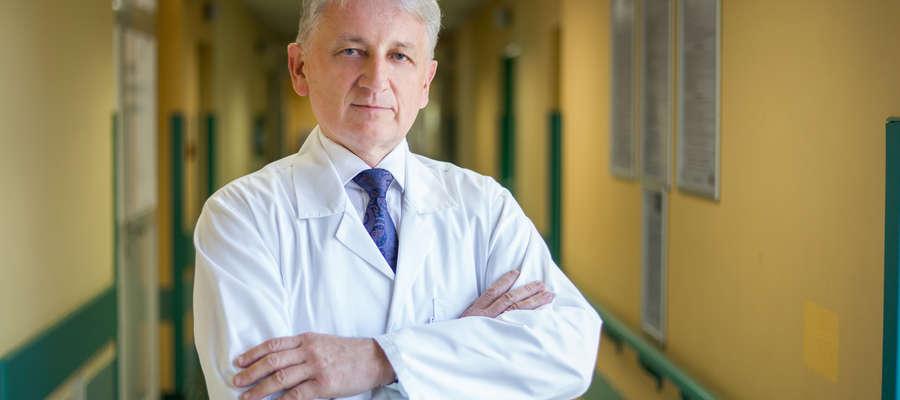 Dr n. med. Zbigniew Purpurowicz, koordynator kliniki urologii i onkologii urologicznej
