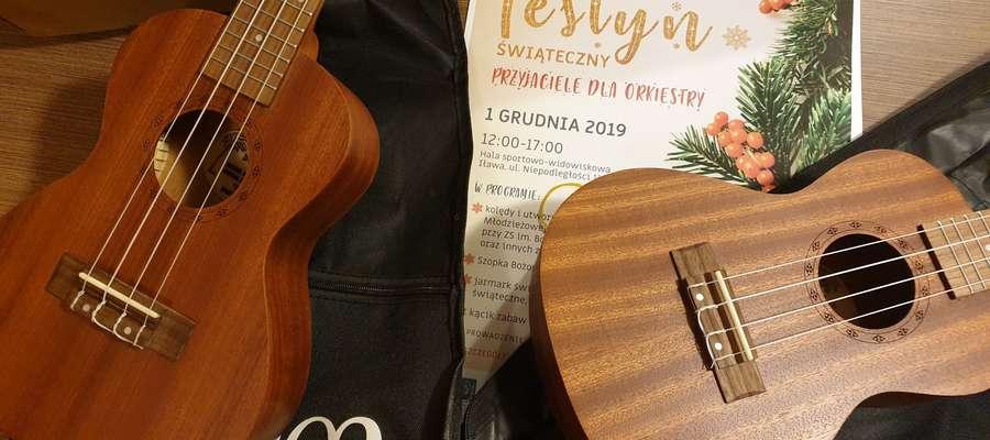 Podczas festynu będzie można kupić m.in. ukulele koncertowe Be Joe FZU-110, szt. 2