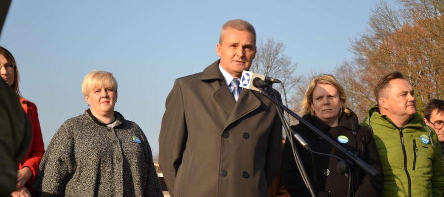 Pierwsza konferencja nowo wybranego burmistrza odbyła się na molo rok temu