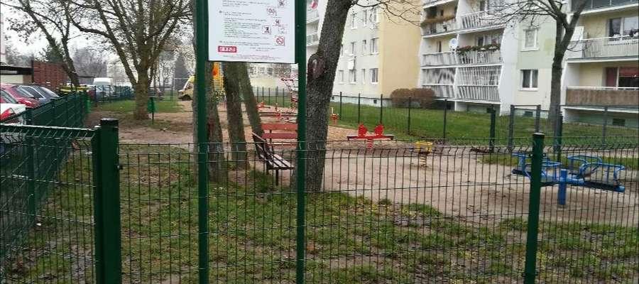 Plac zabaw doczekał się ogrodzenia