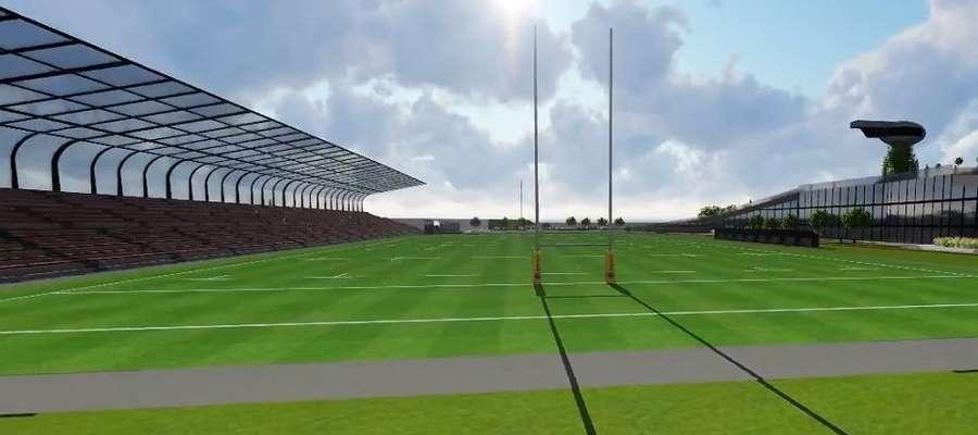 Tak ma wyglądać Olimpijski Stadion Rugby w Olsztynie