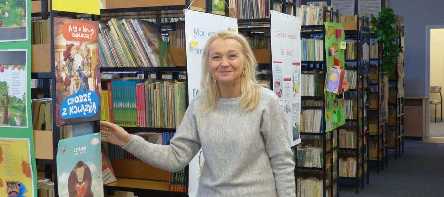 — 1000 nowych książek w naszej bibliotece: to byłoby coś! — mówi Elżbieta Białobrzewska, nauczyciel-bibliotekarz w SP3 Iława