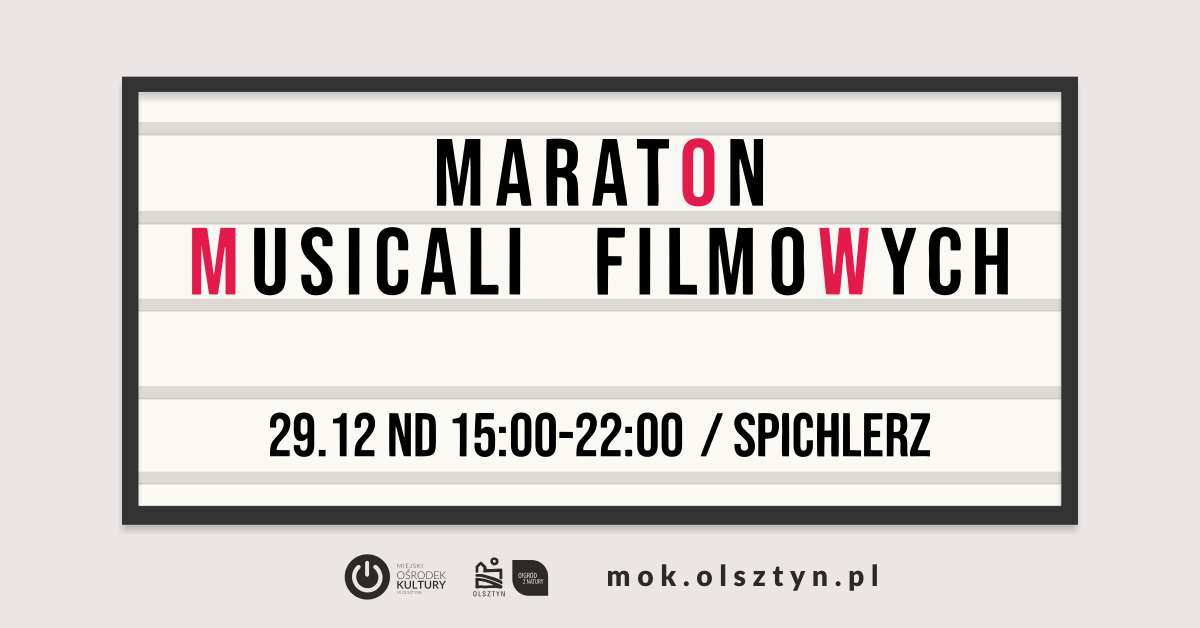 Maraton musicali filmowych - full image