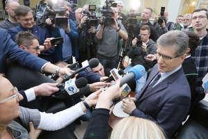 Czesław Jerzy Małkowski, uniewinniony były prezydent Olsztyna, komentuje wyrok [VIDEO, ZDJĘCIA]