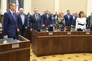 Prezydent Piotr Grzymowicz mówi o Małkowskim bez Małkowskiego
