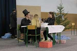 Bożonarodzeniowe spotkanie w I LO w Olecku
