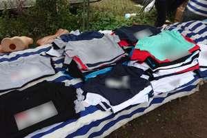 Bułgarzy zatrzymani za handel nielegalną odzieżą i perfumami
