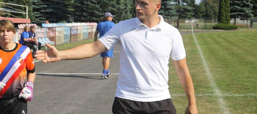 Kamil Szajda został nowym-starym trenerem grającej w klasie okręgowej Victorii Bartoszyce