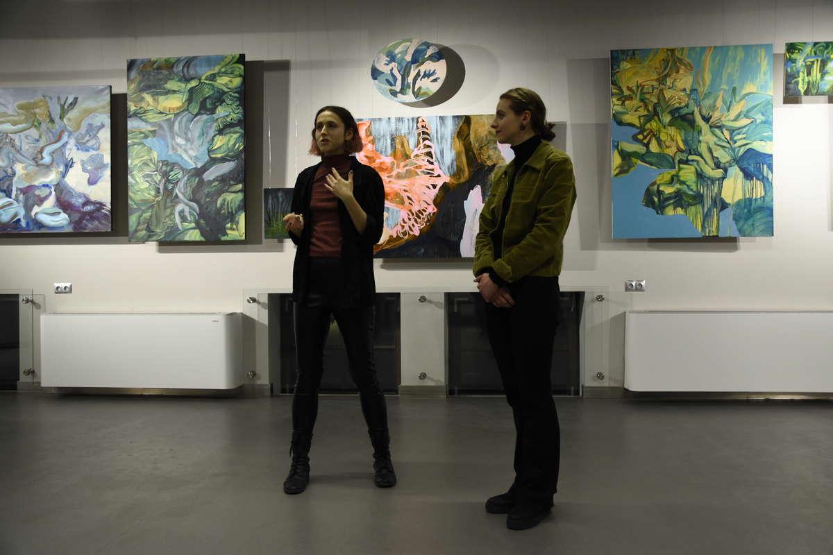 Edyta Hul po lewej - full image