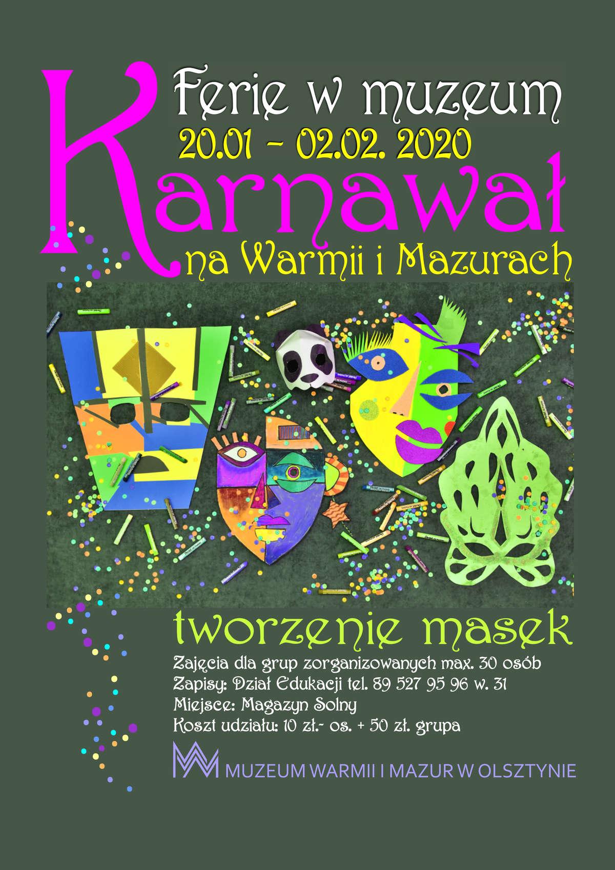 Ferie 2020 w Muzeum Warmii i Mazur - full image
