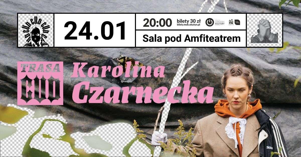 Karolina Czarnecka z rap-folkową płytą w Olsztynie - full image