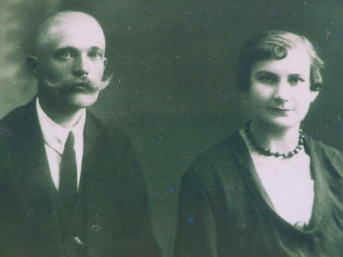 Helena i Wacław Boguccy, rodzice pana Kazimierza.