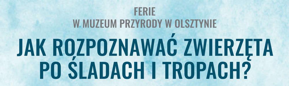 Ferie 2020 w Muzeum Przyrody w Olsztynie