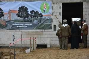 Wmurowano akt erekcyjny pod budowę Placówki Straży Granicznej