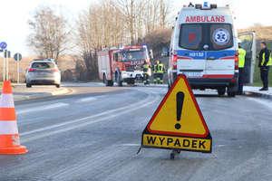 Kiepski początek weekendu. Seria wypadków i kolizji na drogach Warmii i Mazur