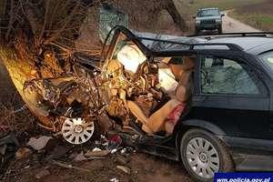 Weekend na drogach Warmii i Mazur: wypadki, kolizje, potrącenia