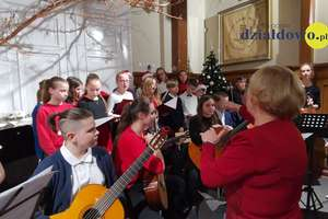 Koncert kolęd w Szkole Muzycznej w Działdowie