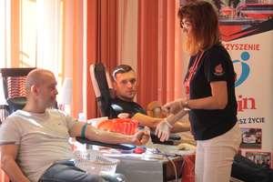 Zbiórka krwi w Klubie Wojskowym w Bartoszycach