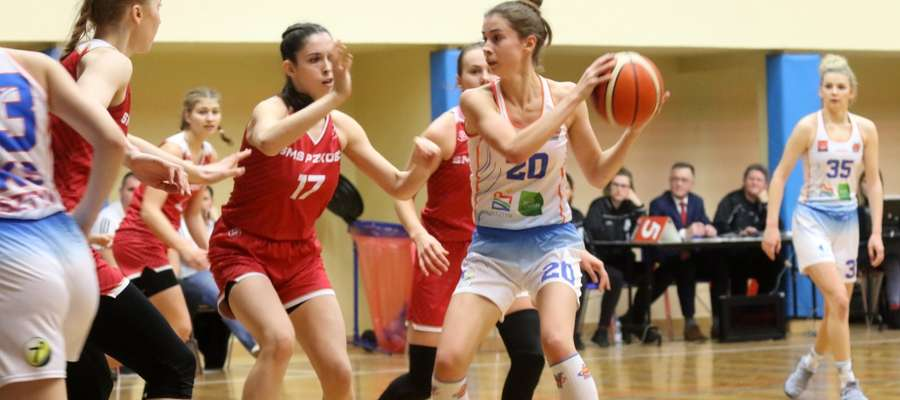 Olsztyńskie koszykarki czeka dziś wieczorem trudne, choć raczej nie niemożliwe, zadanie