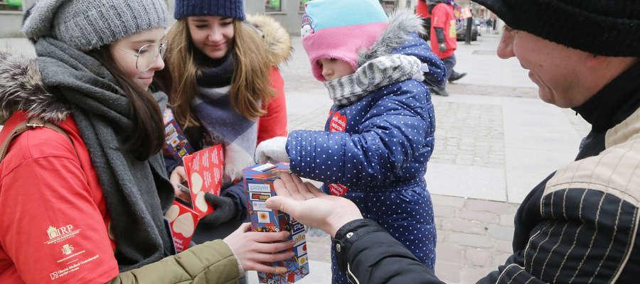 Zdjęcie ilustracyjne. Jednym z najważniejszych wydarzeń w styczniu w Iławie będzie 28. finał Wielkiej Orkiestry Świątecznej Pomocy