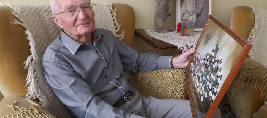 Kazimierz Bogucki w grudniu ubiegłego roku skończył sto lat