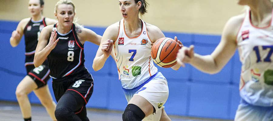 Joanna Markiewicz, tak jak Ksenia Woźniak, rzuciła w stolicy 20 punktów