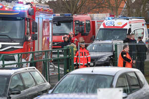 Wybuch gazu przy ulicy Sielskiej w Olsztynie. Jedna osoba poszkodowana, siedem osób ewakuowanych [ZDJĘCIA]