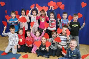 Walentynki oczami olsztyńskich przedszkolaków