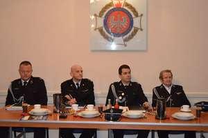 Zebranie sprawozdawcze członków Ochotniczej Straży Pożarnej w Lidzbarku