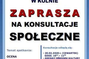 Konsultacje w sprawie posterunku policji w Kolnie