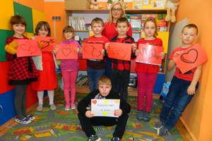 Walentynkowe niespodzianki, czyli święto zakochanych w szkole w Galinach