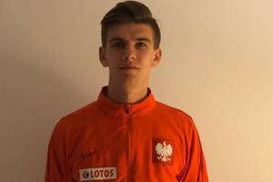 Kacper Sezonienko, wychowanek AP Ostróda strzelił gola w kadrze Polski U-17