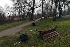 Sprawcy dewastacji węgorzewskiego parku zostali zatrzymani