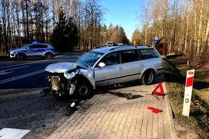 Tragiczny wypadek. 36-letni kierowca zmarł w szpitalu