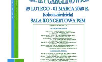 XXI Festiwal Pianistyczny im. Izy Garglinowicz