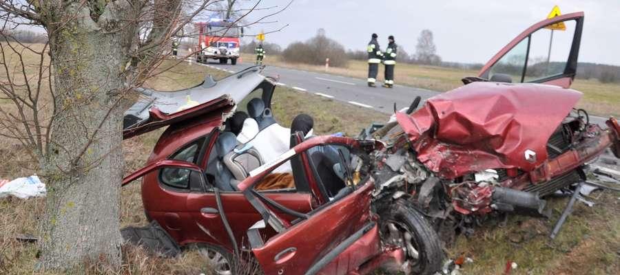 Do wypadku doszło na trasie Biała Piska - Drygały