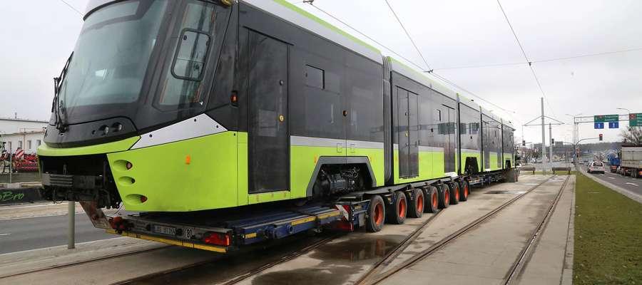 W lutym do Olsztyna przyjechał nowy tramwaj, który dla miasta zbudowała turecka firma. Takich pojazdów ma się pojawić jeszcze sześć