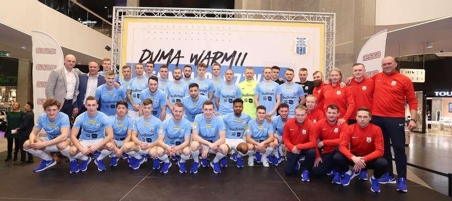 Prezentacja Piłkarzy Stomilu