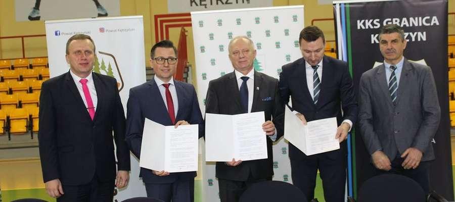 Powstanie klasy to efekt współpracy władz miasta i powiatu oraz klubu Granica