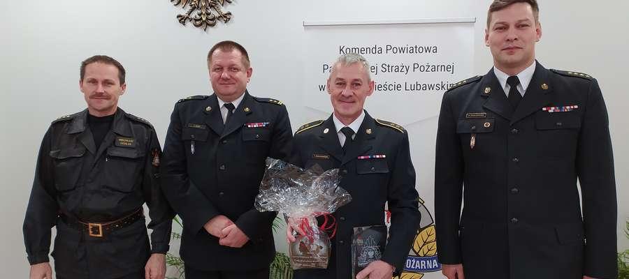 Asp. sztab. Tomasz Wielgosiński odszedłna emeryturę
