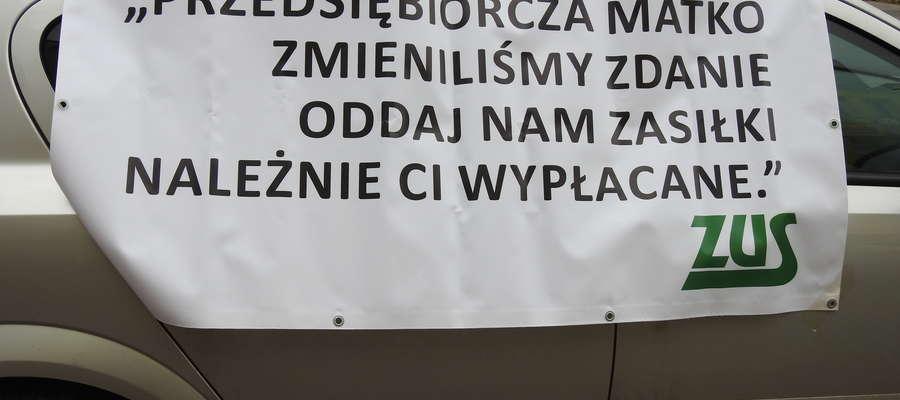 Strajk informacyjny - kobiety kontra ZUS