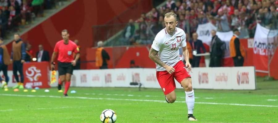 Kamil Grosicki znalazł się poza kadra na tegoroczne mistrzostwa Europy