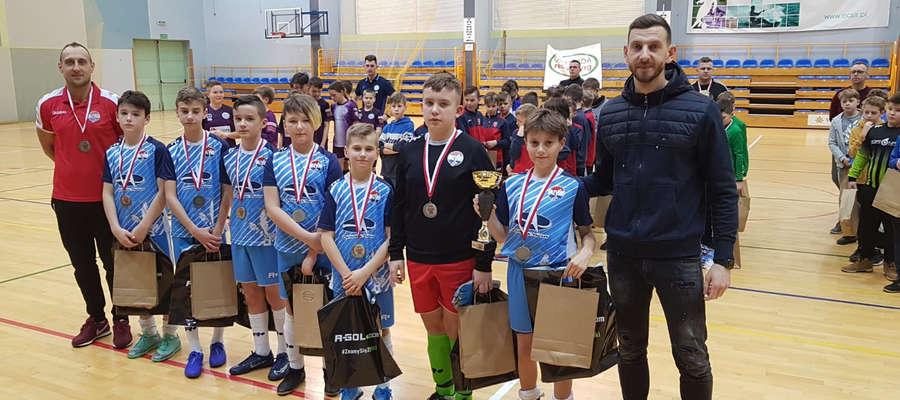 Piłkarze Sokoła Ostróda zajęli 2. miejsce