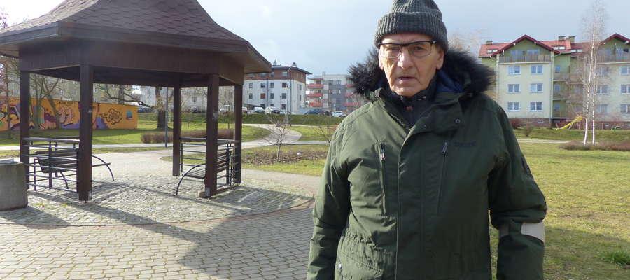 Leszek Janiszewski o 9 rano w sobotę posprząta te okolice