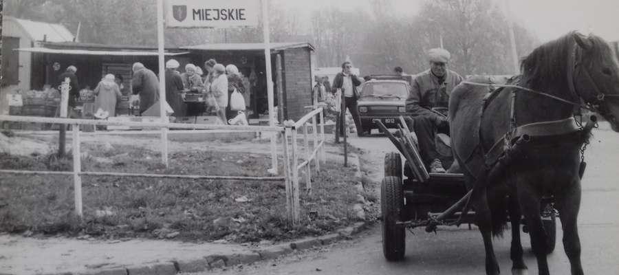 Targowisko miejskie w Olsztynie w okresie PRL