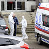 Policjanci interweniowali w ubraniu ochronnym [ZDJĘCIA]