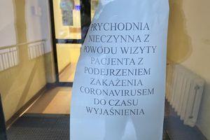 Kolejna przychodnia w Olsztynie zamknięta z powodu podejrzenia koronawirusem