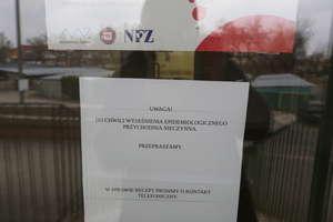 Przychodnia w Olsztynie zamknięta z powodu zagrożenia epidemiologicznego