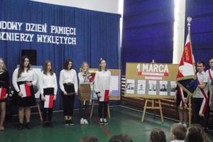 Dzień Pamięci Żołnierzy Wyklętych w szkole w Żydowie